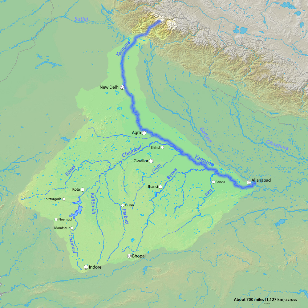 Yamuna River System
